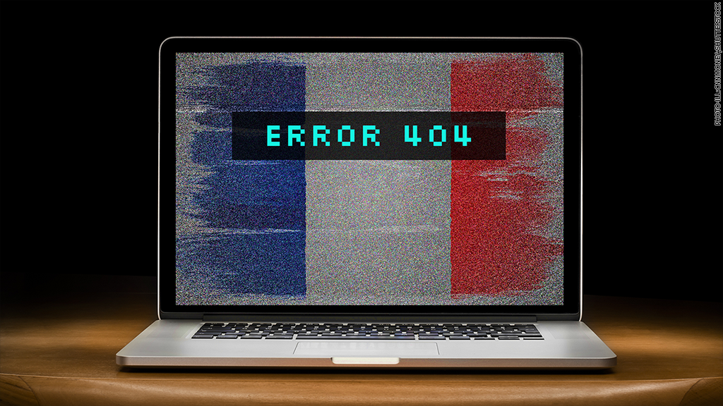 French websites hit by cyberattacks