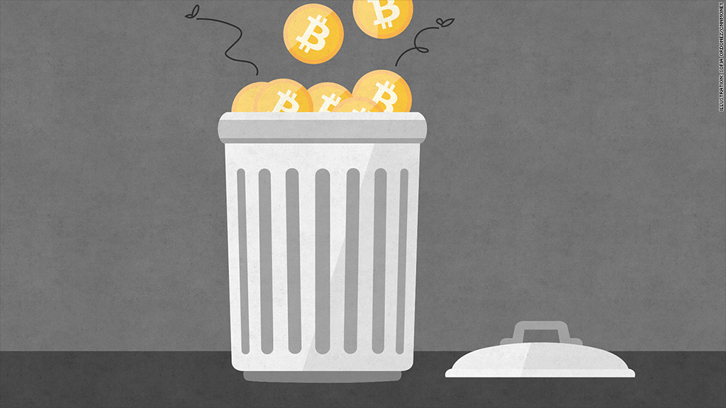 bitcoin trash