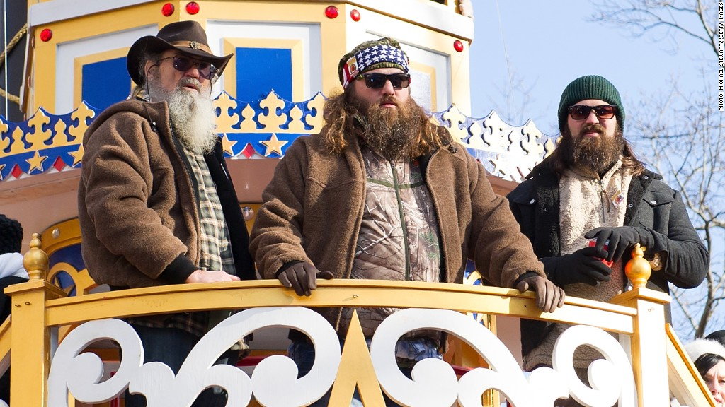 duck dynasty float