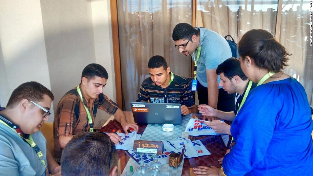 gaza sky geeks startup weekend