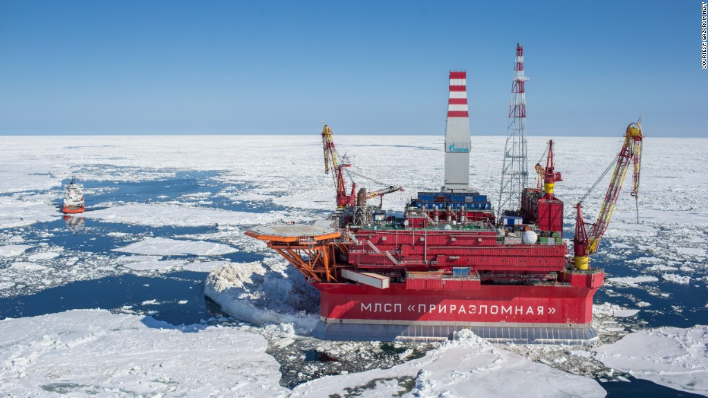 climate change arctic drilling