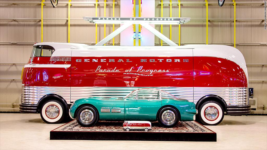 1950 General Motors Futurliner Ferraris Sell For