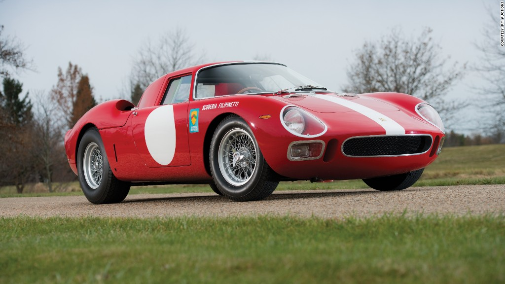 scottsdale auctions 1964 ferrari 250 lm coupe