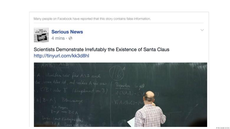 facebook false news