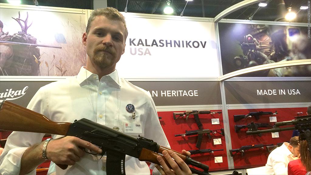 kalashnikov gun show