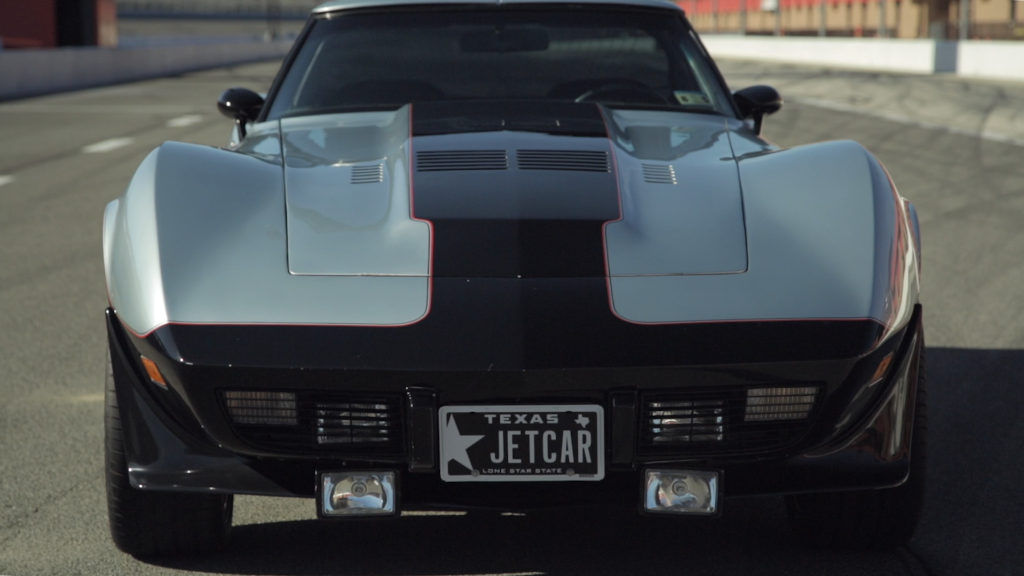 This is the world's only jet Corvette