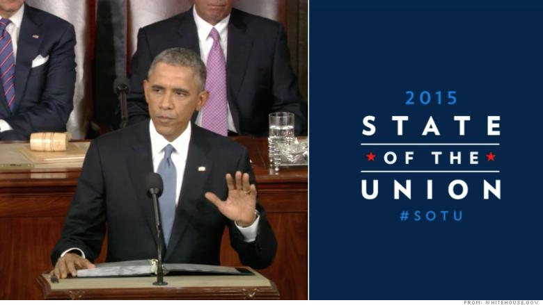 Obama SOTU speech