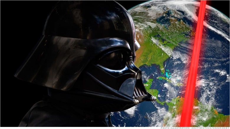 darth vader world economy