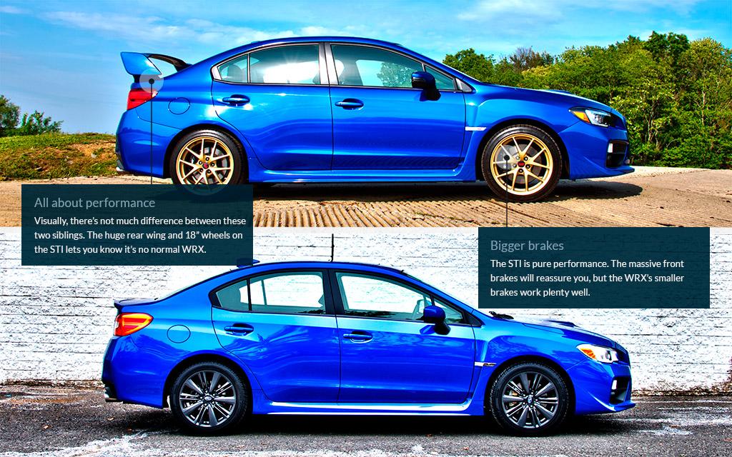 Difference Between Wrx And Sti >> Subaru Wrx Comparison Auto Express