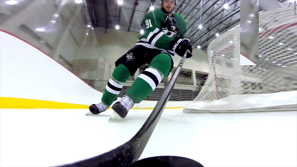 NHL stars wear GoPros on the ice