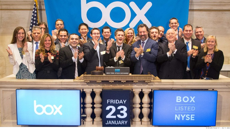 Box jumps 66% in first big IPO of 2015