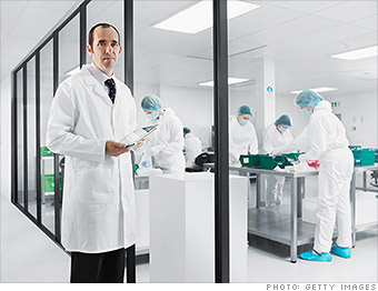 100 best jobs lab supervisor