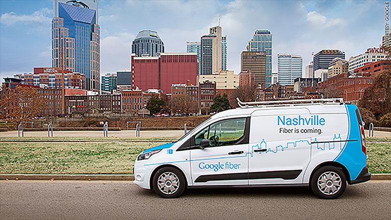 google fiber cities nashville