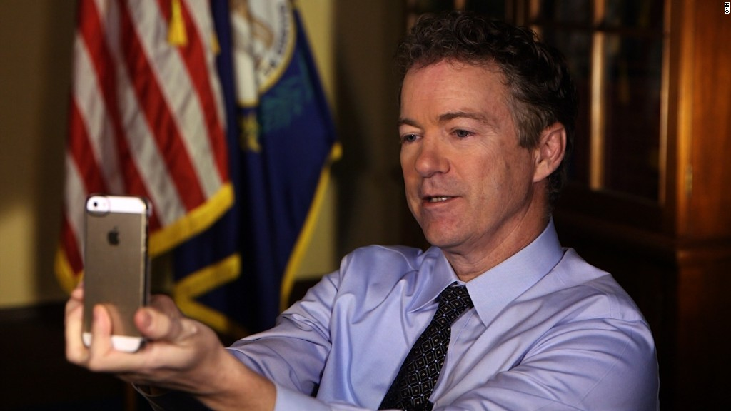 Rand Paul Snapchat interview