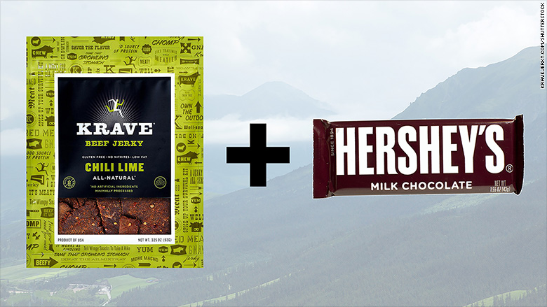 Hershey Just Bought A Beef Jerky Company Chocolate Jerky