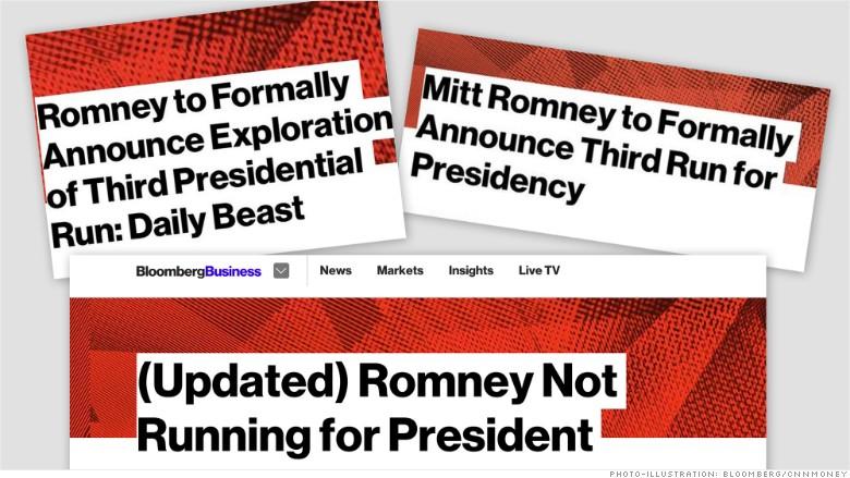 romney presidential run
