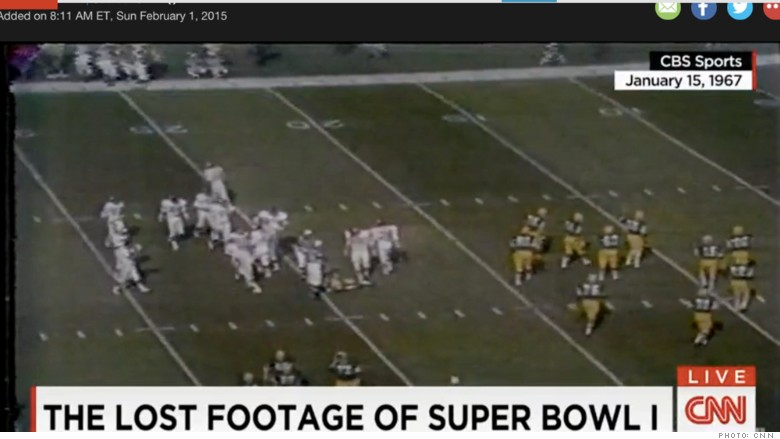 lost superbowl footage
