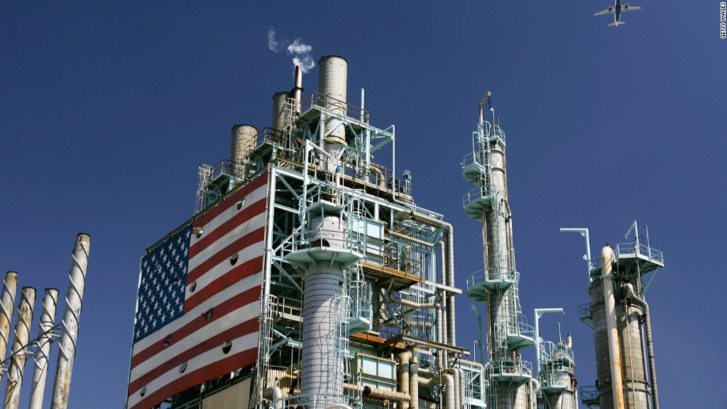 Major U.S. oil strike underway