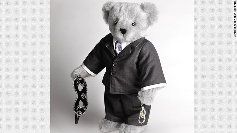 50 shades grey bear