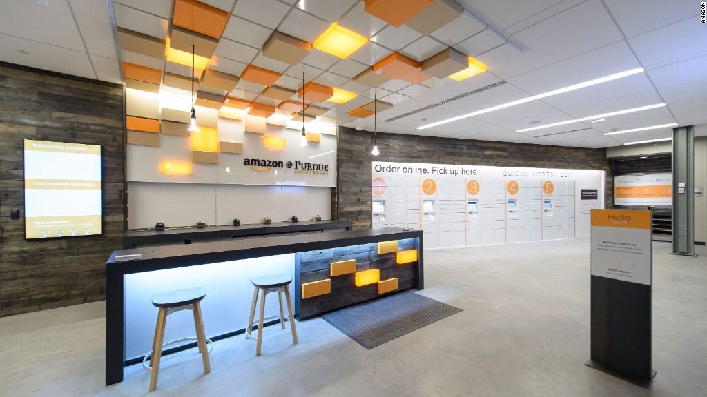 Inside Amazon's first brick-and-mortar store
