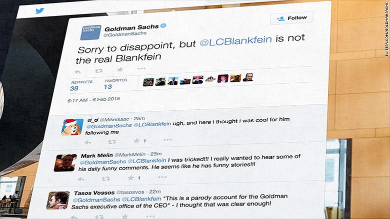 fake lloyd blankfein twitter