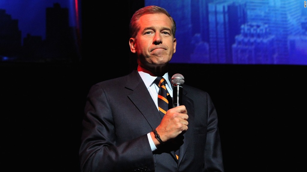 Brian Williams' changing Iraq war story