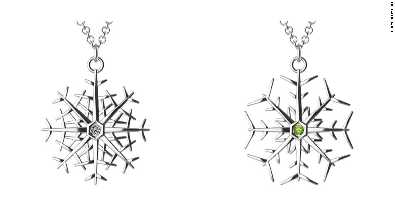 polychemy snowflakes