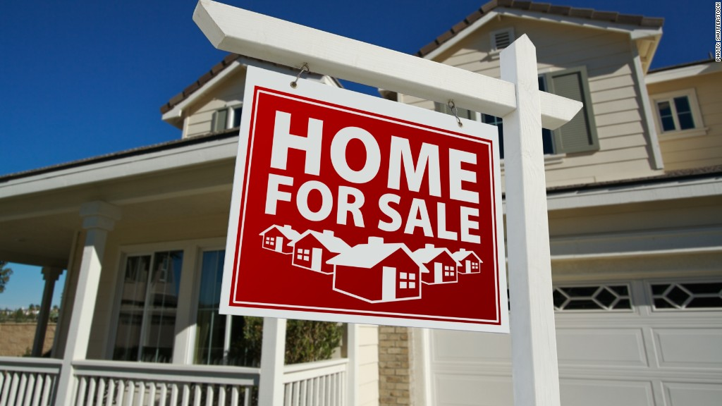 Home sellers see biggest gains in eight years