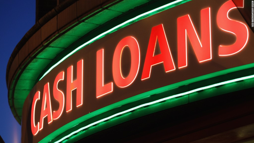 Cracking down on payday loans