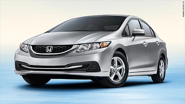 Greenest Cars 2015 Honda Civic Cng