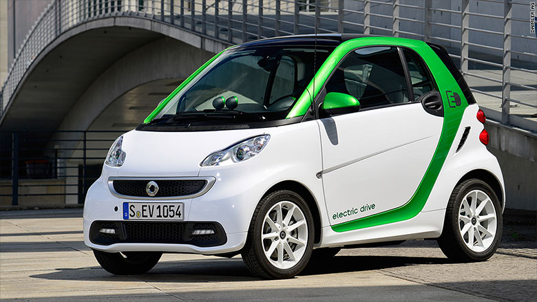 greenest cars 2015 smart ed