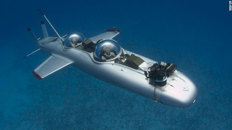 luxury submarine super falcon