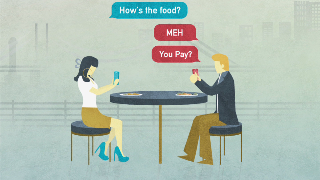 Are apps making in-person dating harder?