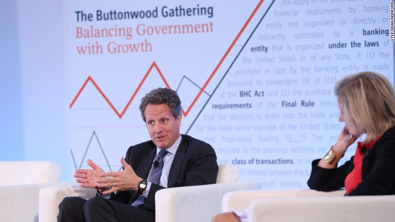 Geithner Europe
