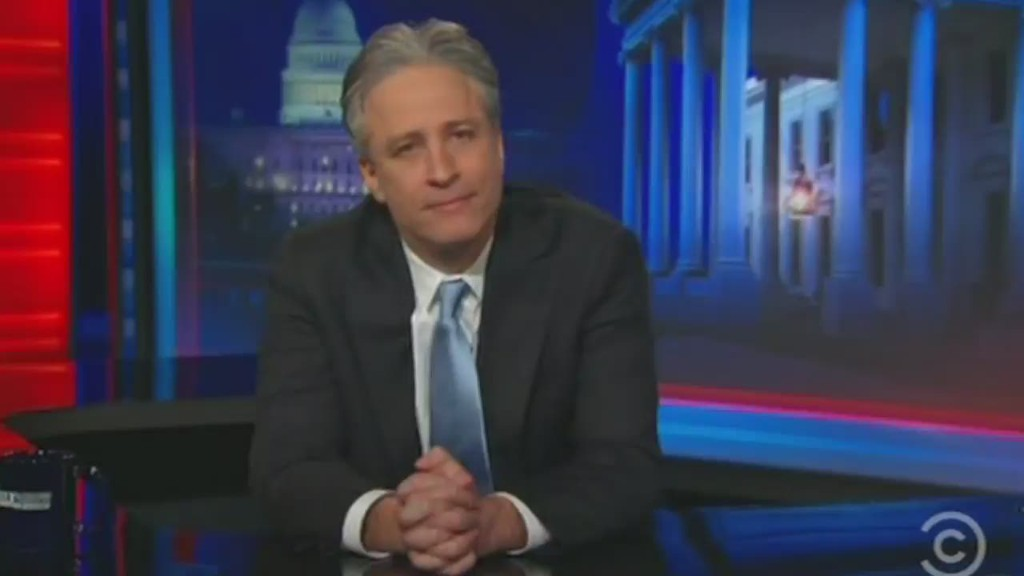 See Jon Stewart announce departure from 'The Daily Show'