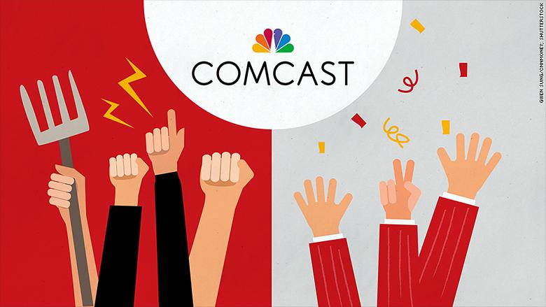comcast investors customers