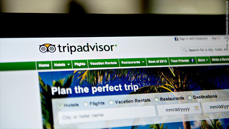Hot Stock TripAdvisor Jumps 25