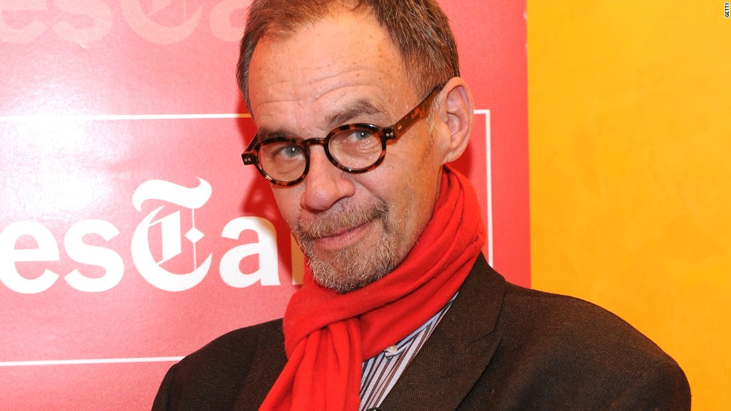 NY Times media columnist David Carr dies at 58
