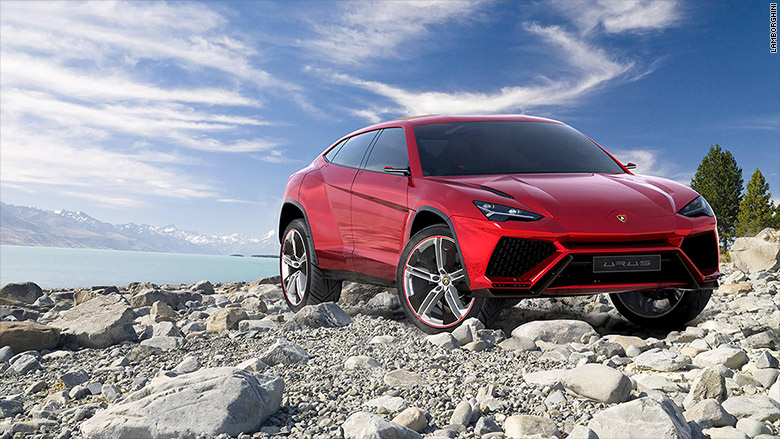 ultra luxury suv lamborghini