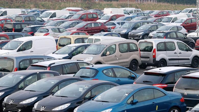 europe car sales