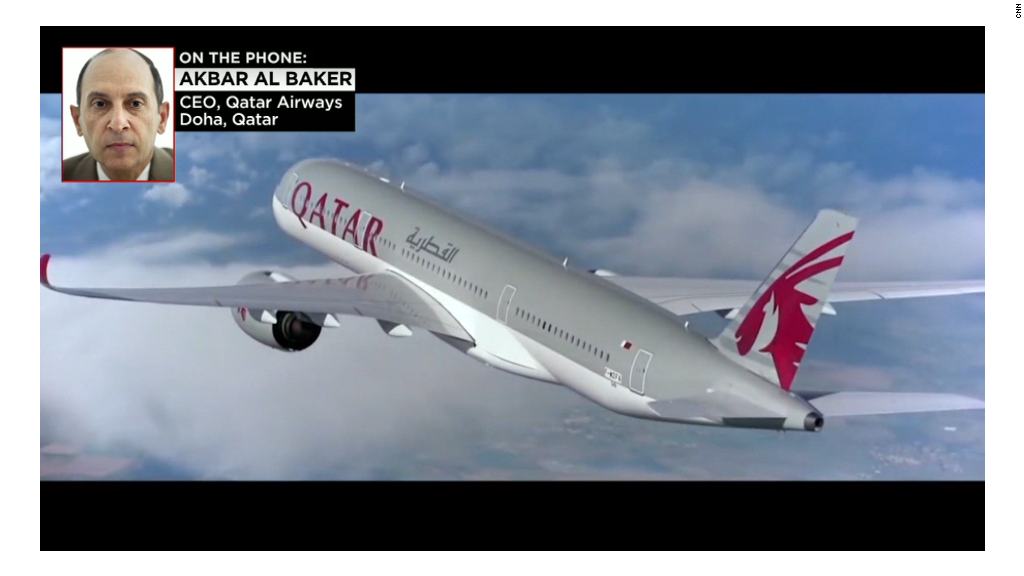Qatar Airways CEO: Sexist accusations are 'bulls---'