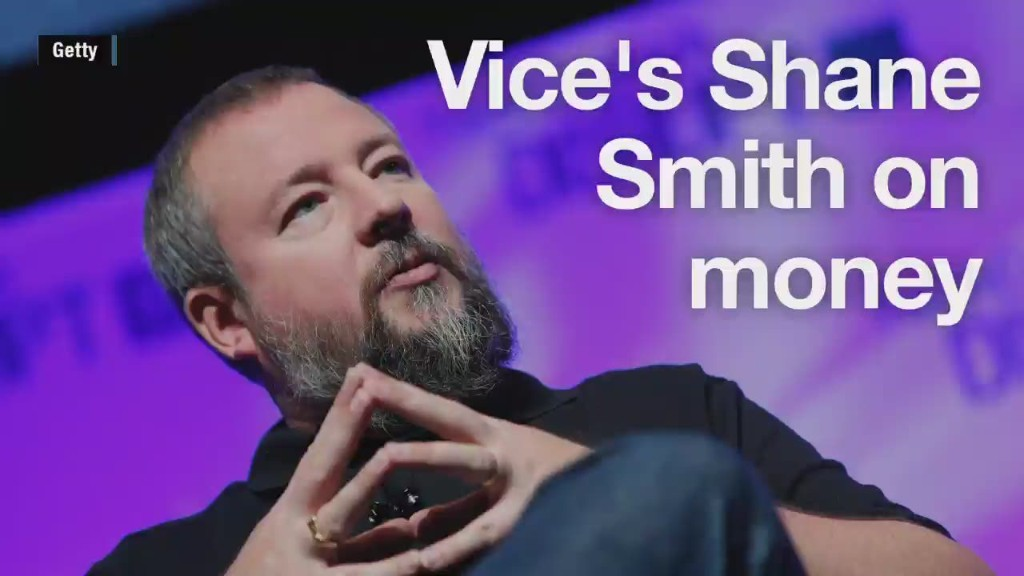 Vice CEO Shane Smith's thoughts on money