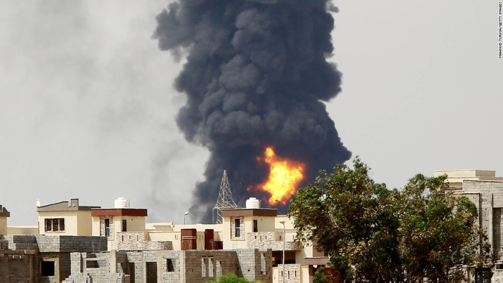 ISIS hits at Libya's oil production