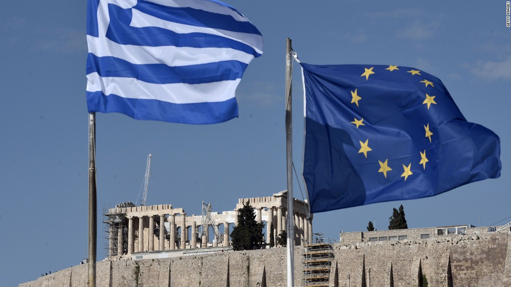 Greece: small economy, big market mover
