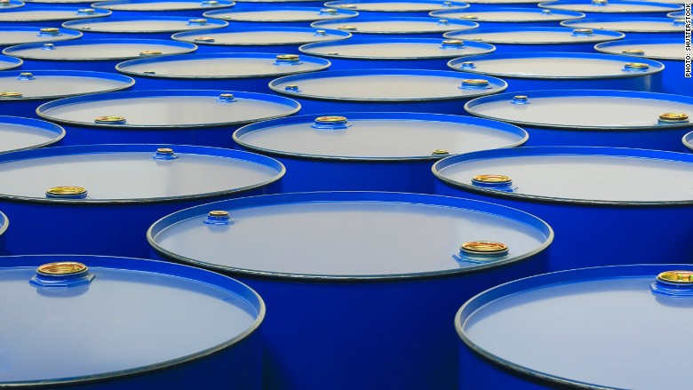 barrel crude oil