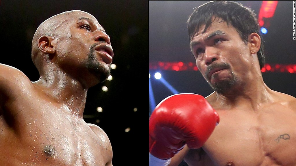 Mayweather-Pacquiao fight set for May