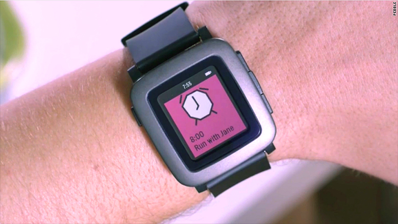 new pebble watch