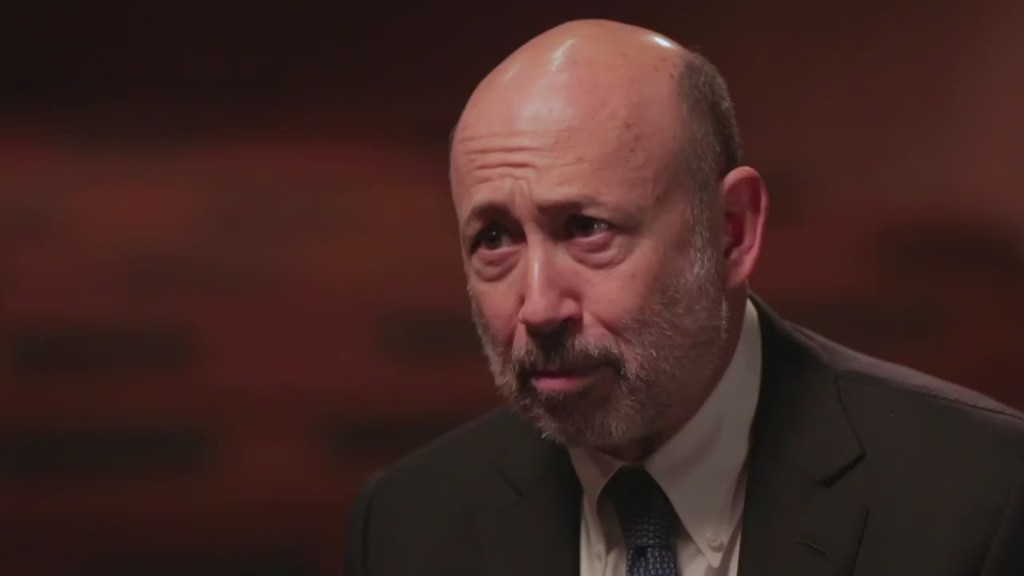 Goldman Sachs CEO on income inequality