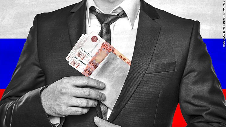 russian bribes