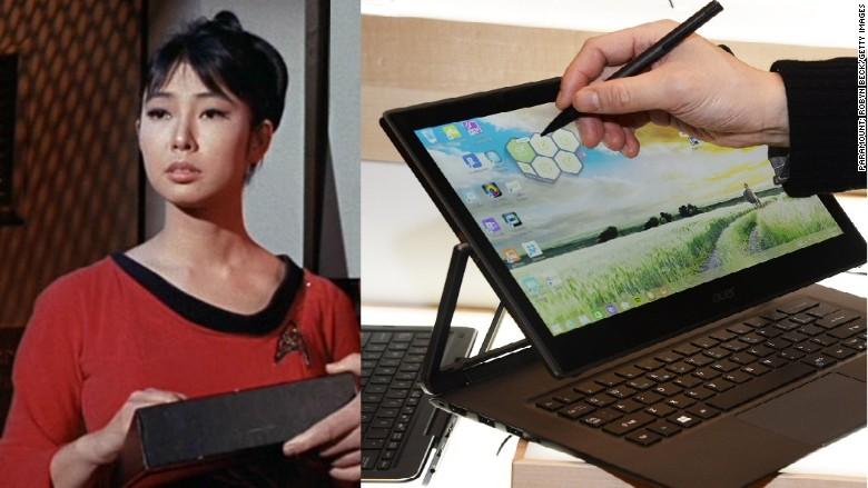 star trek tablet